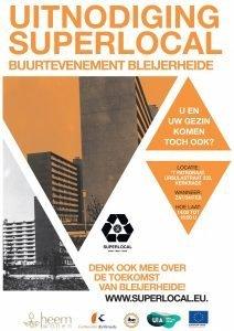 Denk mee over de toekomst van Bleijerheide op het SUPERLOCAL buurtevenement!